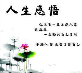 人生感悟的句子图片经典语录 人生感悟的句子带图片