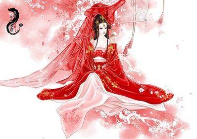形容嫁衣的诗句 描写古代嫁衣的词语