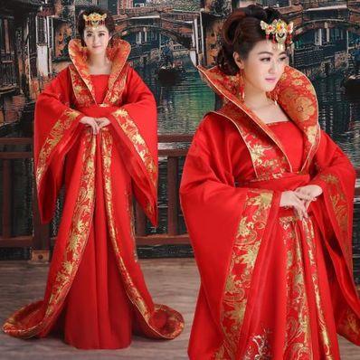 形容红色嫁衣的句子 描写古代大红嫁衣的句子