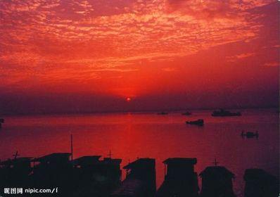 描写早晨江边美景的句子 描写江边景色的句子