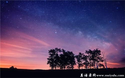 夜晚优美的句子 描写晚上优美的句子。不是诗句!