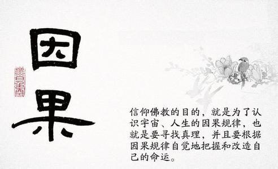 因果不受的句子佛语 禅语或者佛语中关于因果报应的句子