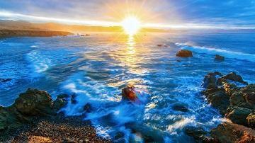 关于海的句子唯美 描写海的优美句子