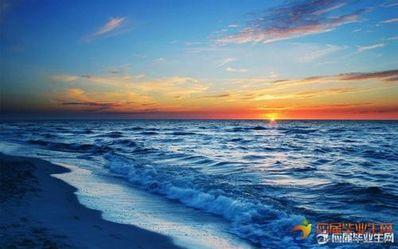 形容海的唯美句子短的 形容海的唯美句子短的