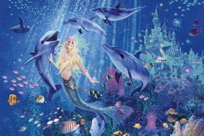 关于人鱼唯美的一句话 求描写美人鱼的句子