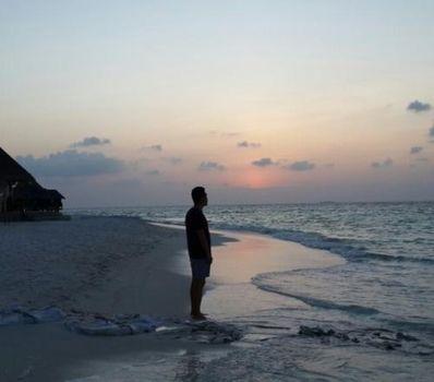 海边搞笑心情短语 海边休闲的愉悦心情短语