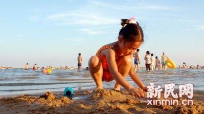 宝贝海边玩的心情短语 宝贝第一次参加六儿童心情短语