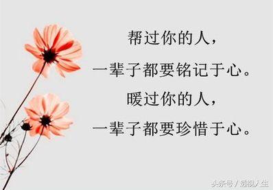 铭记于心的励志句子 感恩励志的句子