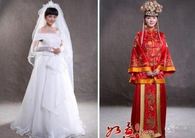 形容新娘穿嫁衣的诗句 描写古代新娘的句子?