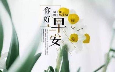 简单一句早安如何说 如何文艺简短的说早安
