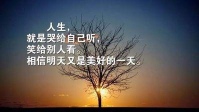 人生就像一盏灯的句子